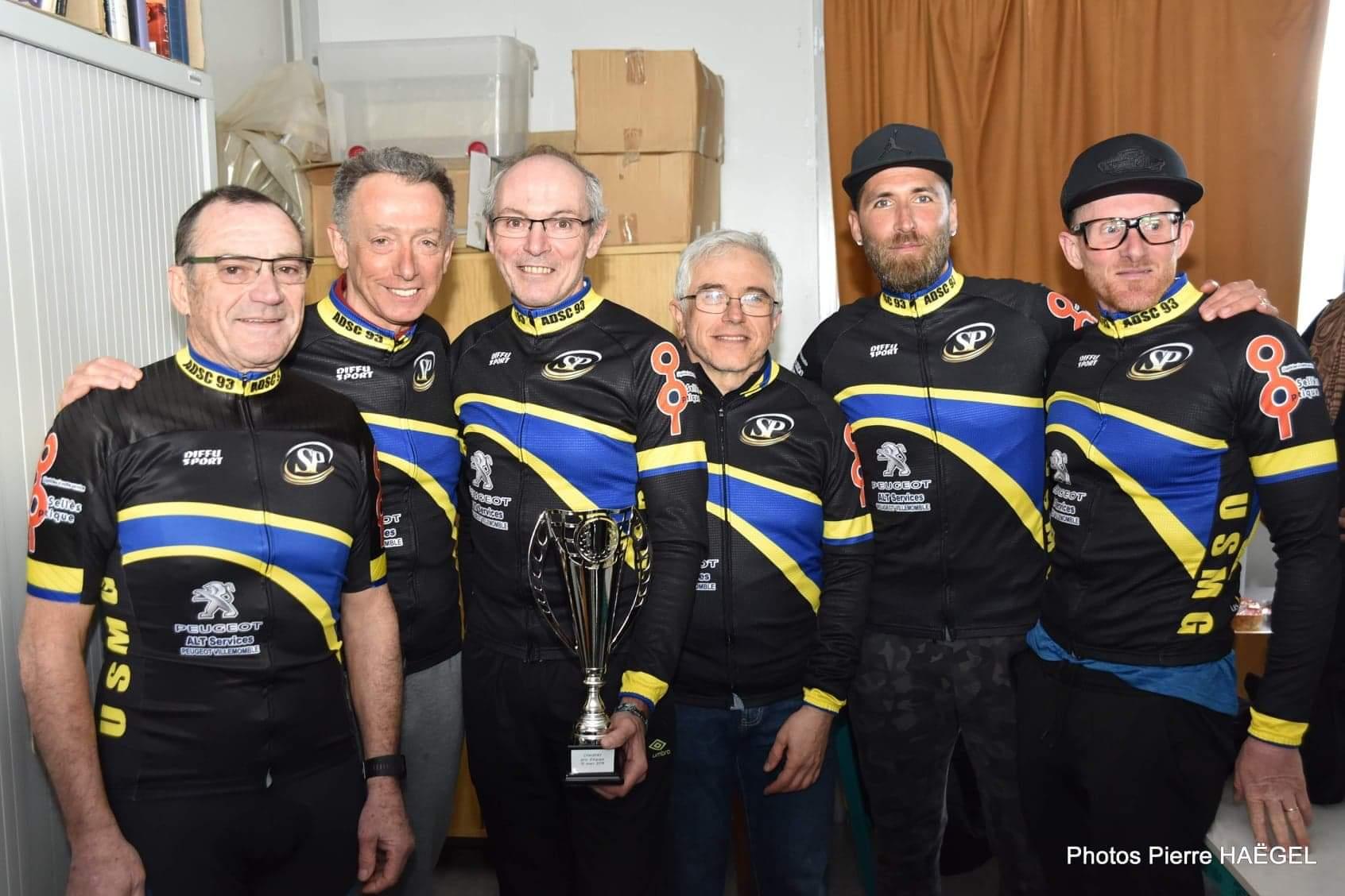 cyclisme Chauffry 10 mars 2019