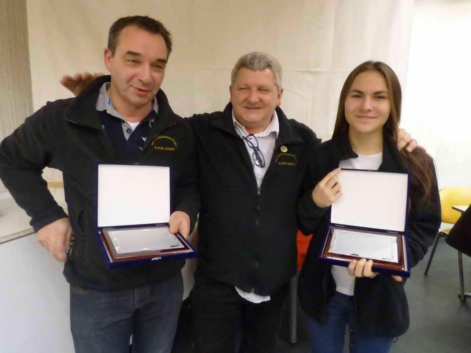 Récompensés USMG  Angel ROVIRA et Gabriele CHABROL tir à l'arc_2_
