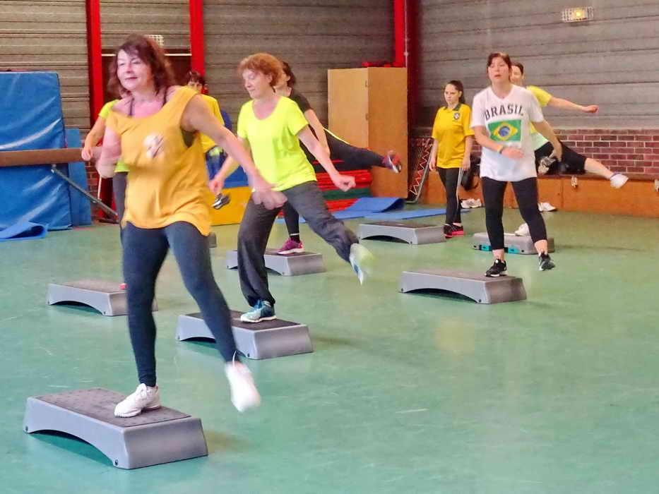 séances de Gym Volontaire 16