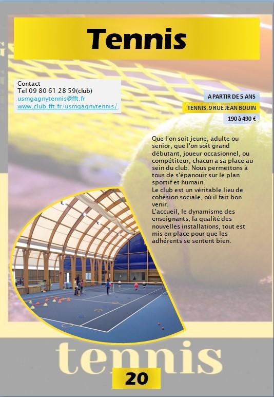 Usmg 2021 2022 tennis