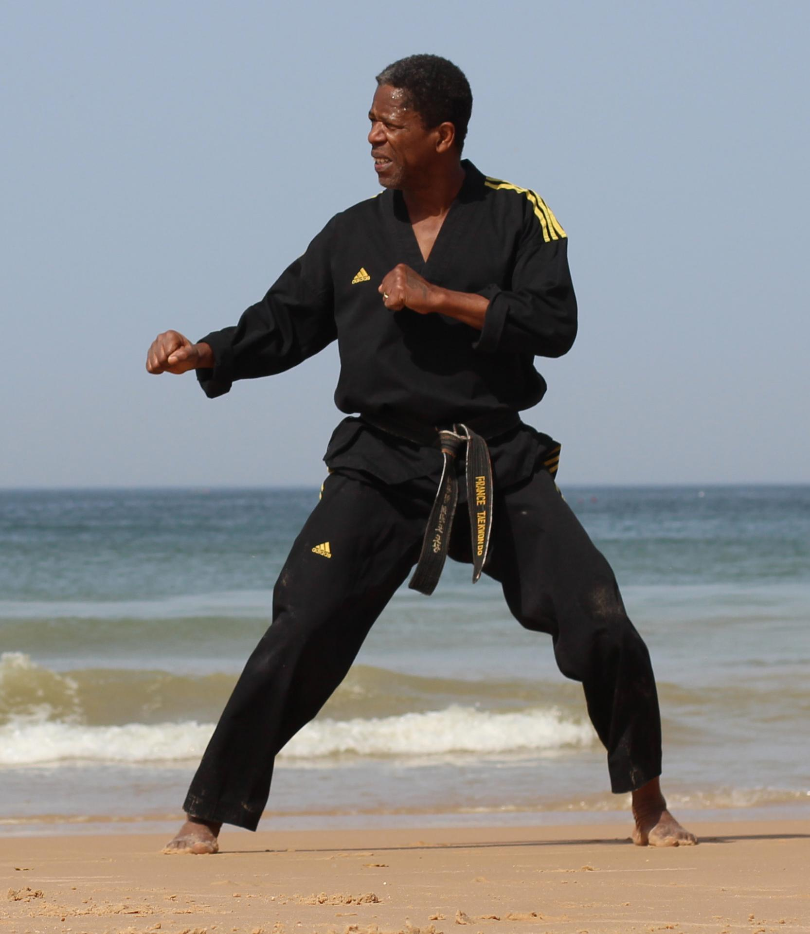 2017 taekwondo michel aholou