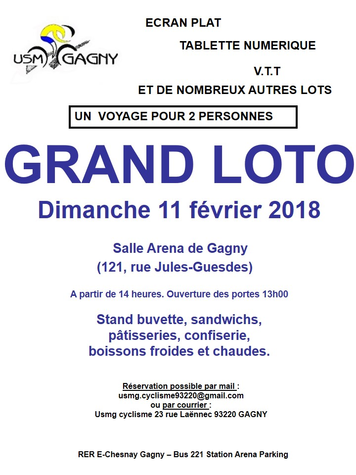 Affiche loto 11 02 2018 a3