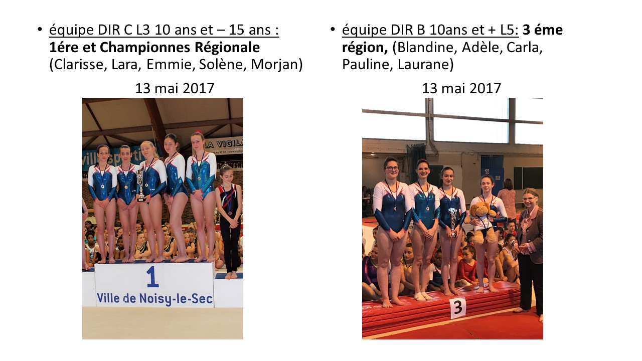 Competitions filles 1