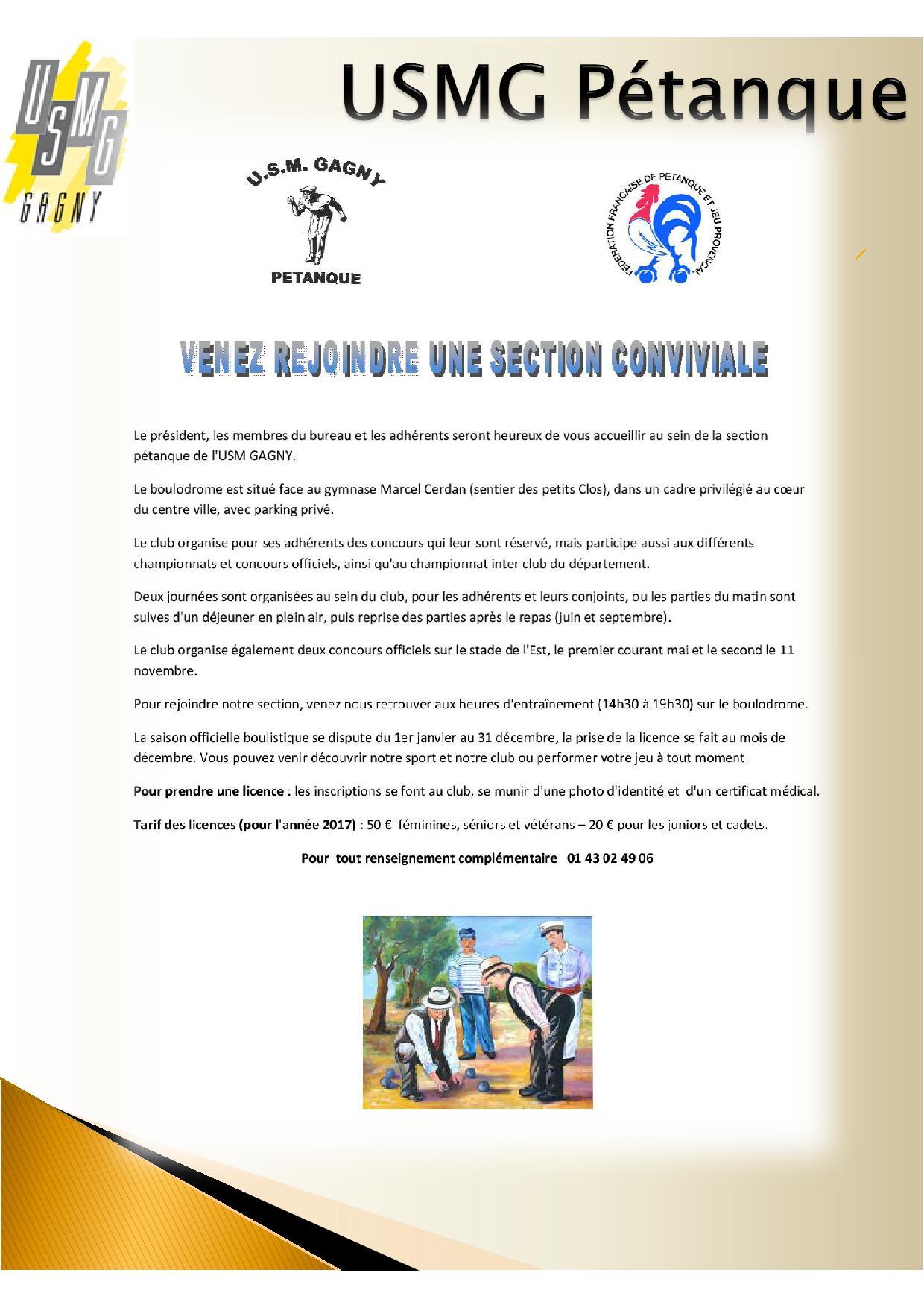 Flyer petanque 2017