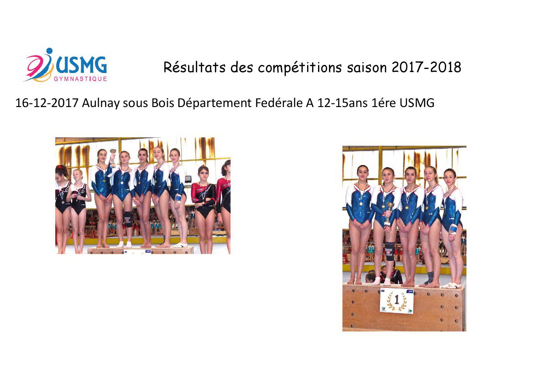 Gym resultats compet 8