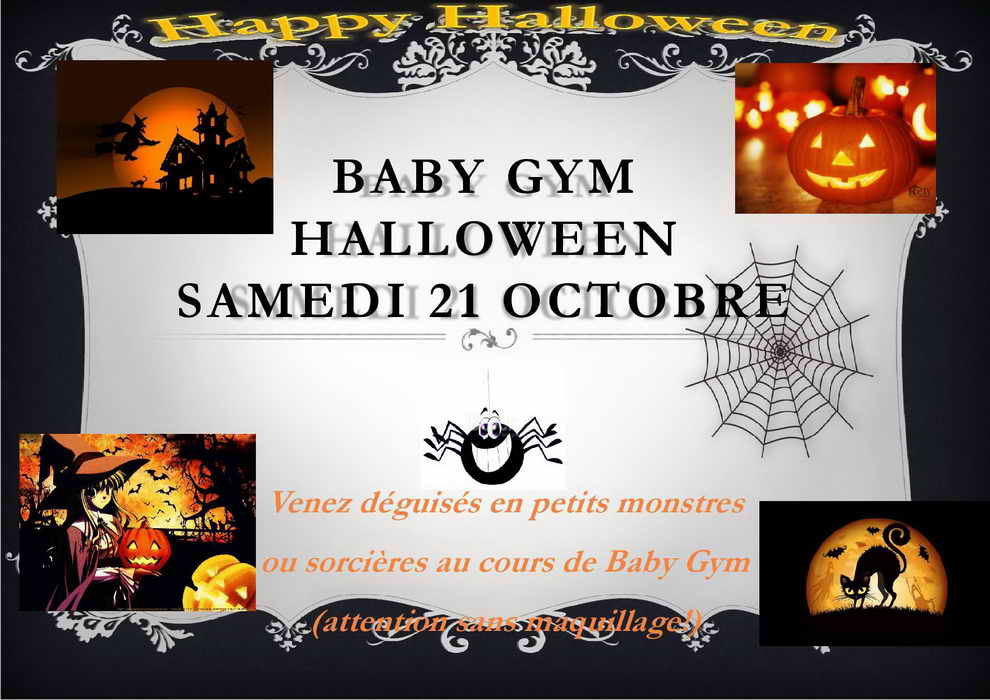 Halloween baby gym redimensionner