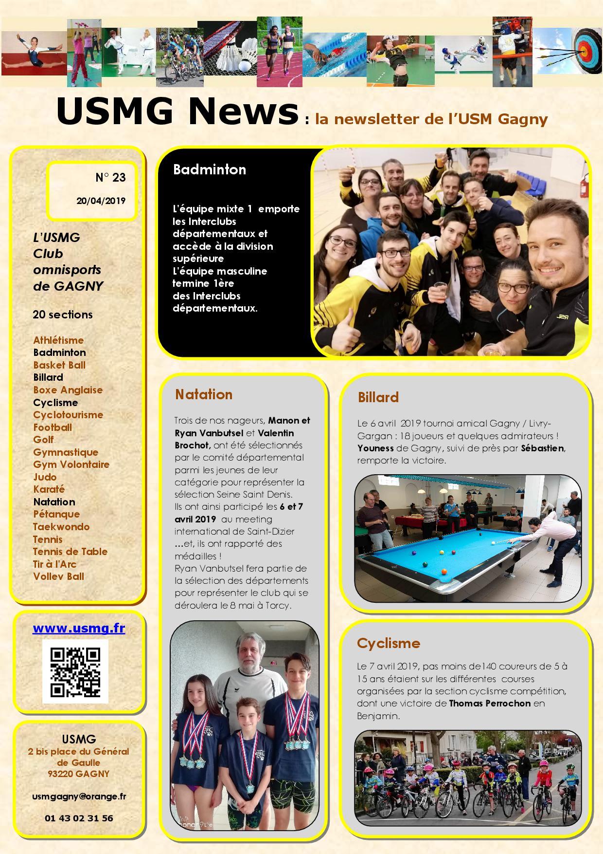 Usmg news 23