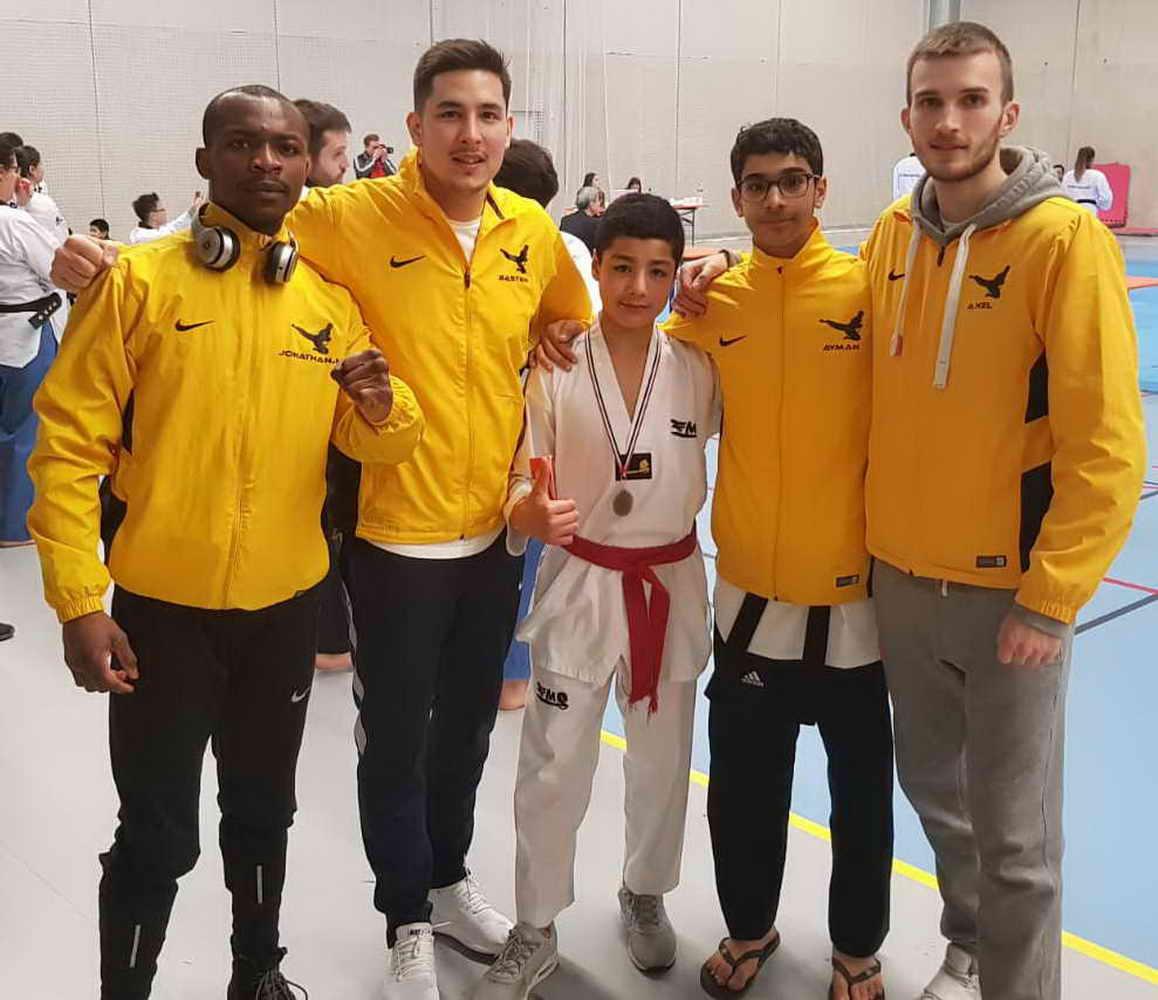 Usmg taekwondo idf poumse 2018